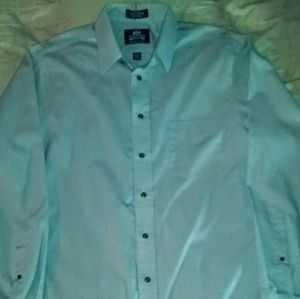 STAFFORD Wrinkle Free Men's Button Down (Large)